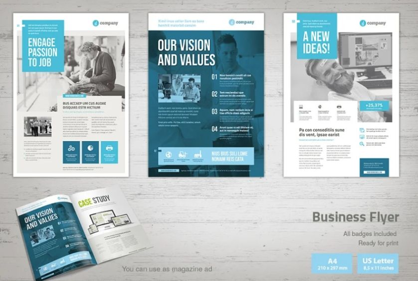 Modern and Clean Flyer Layouts