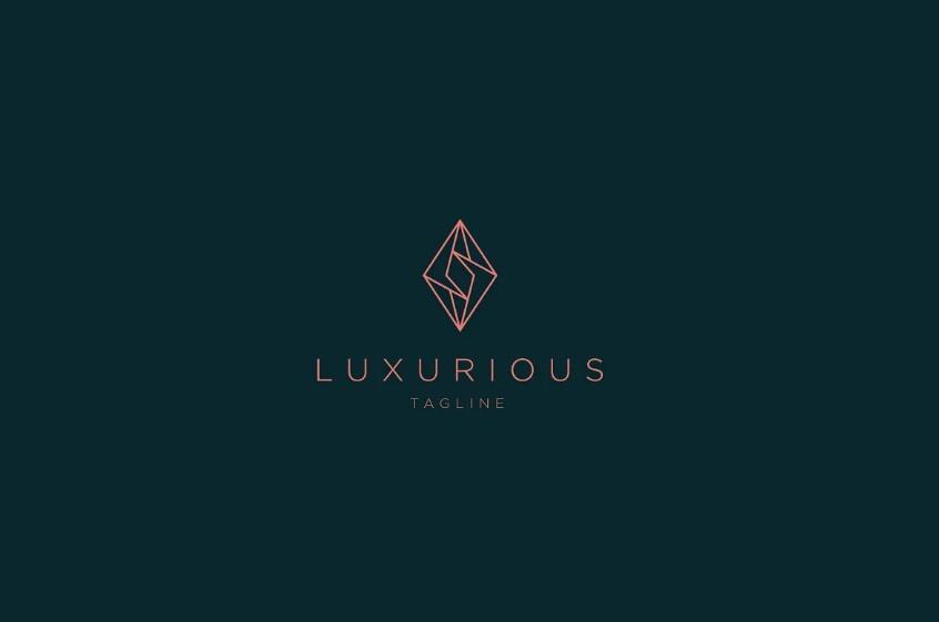 Monoline Jewelry Logotype Design