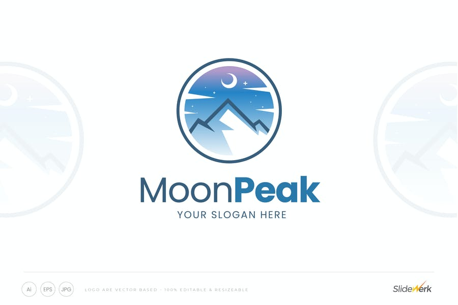 Moon Peak Logo Ideas