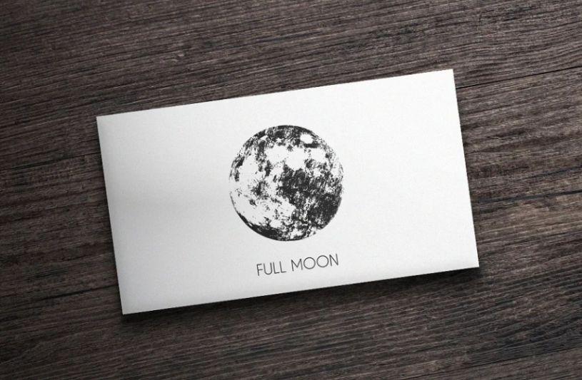 Moon Vector Logo Idea