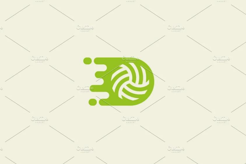 Moving Ball Logo Design