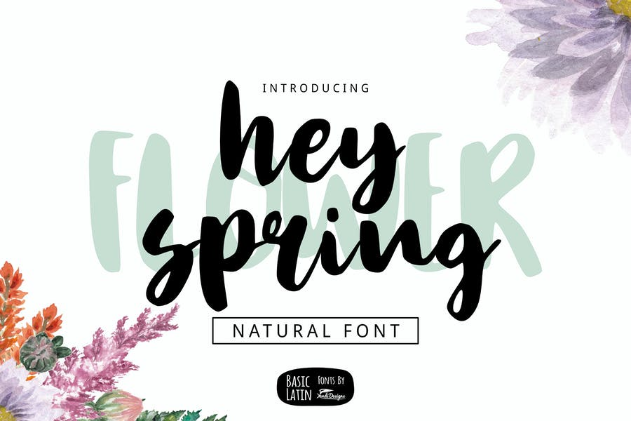 Multipurpose Brush Fonts