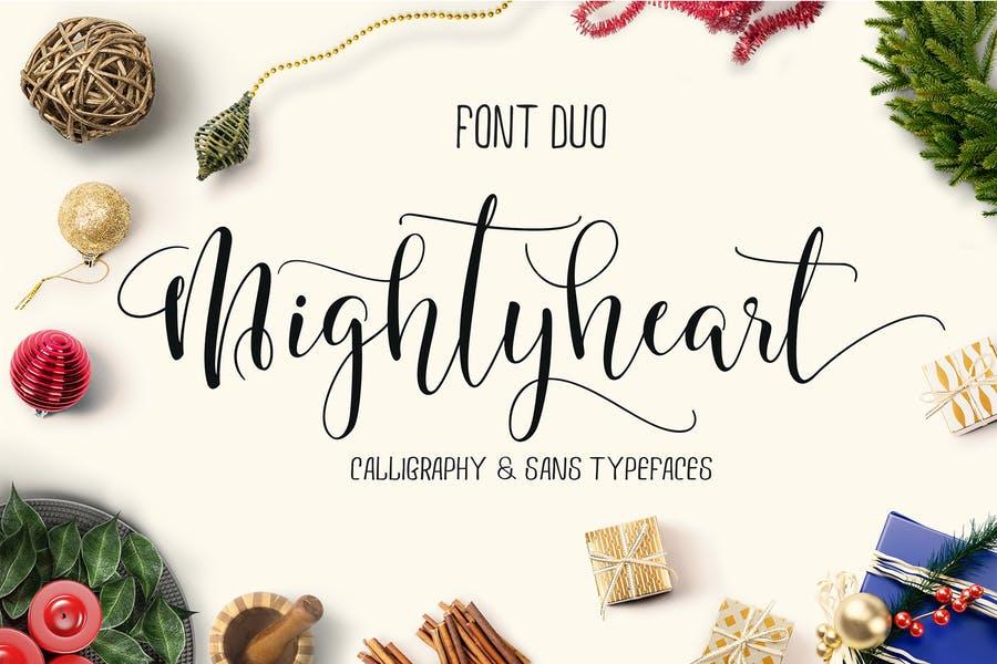 Multipurpose Calligraphy Duo Font