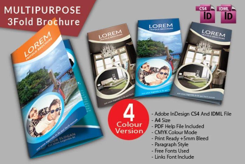 Multipurpose Spa Brochure Templates