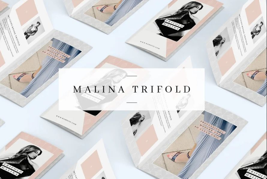 Multipurpose Tri Fold Brochure Templates