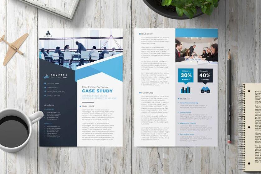 Multipurpose case Study Templates