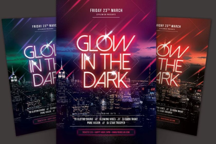 Music Party Flyer Templates