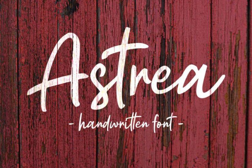 Natural Stoke Handwritten Fonts