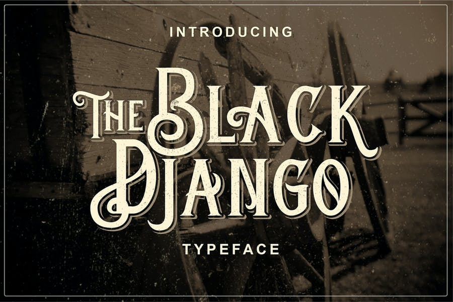 Old Fashioned Western Font