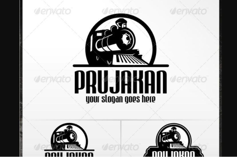 Old Train Logo Idea