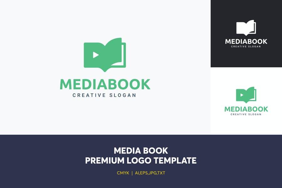 Online Audio Book Logo Design
