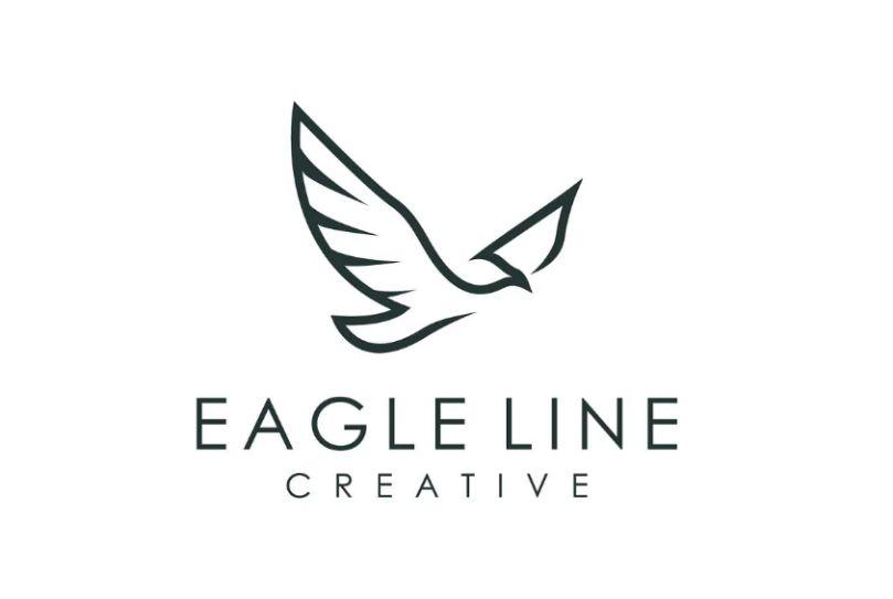 Outline Eagle Logo Idea