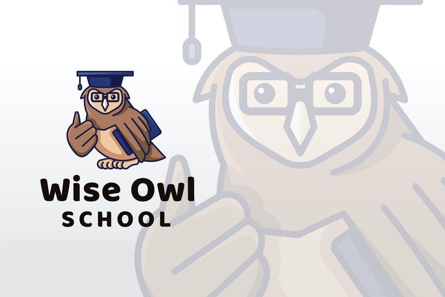 Owl School Logo Design