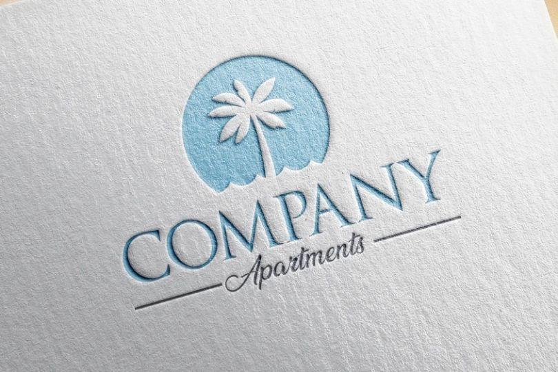 Palm Beach Logo Template