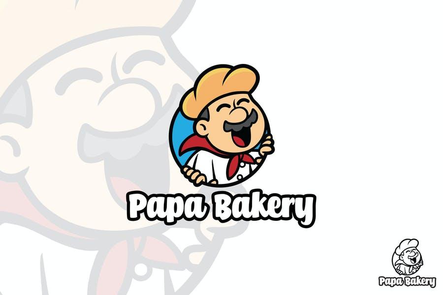Papa Bakery Logo Idea