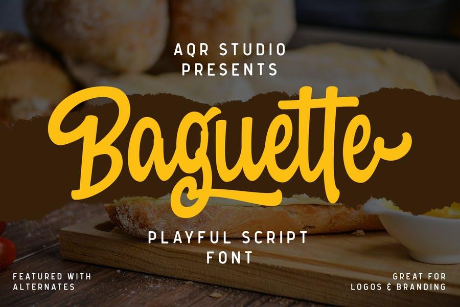 Playful Bold Typeface