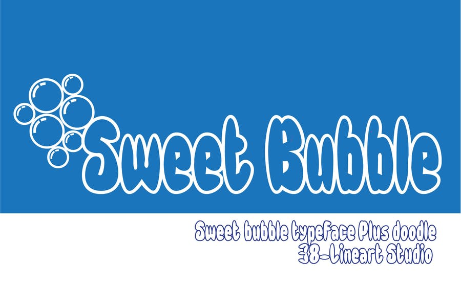 Playful Sweet Bubble Typeface