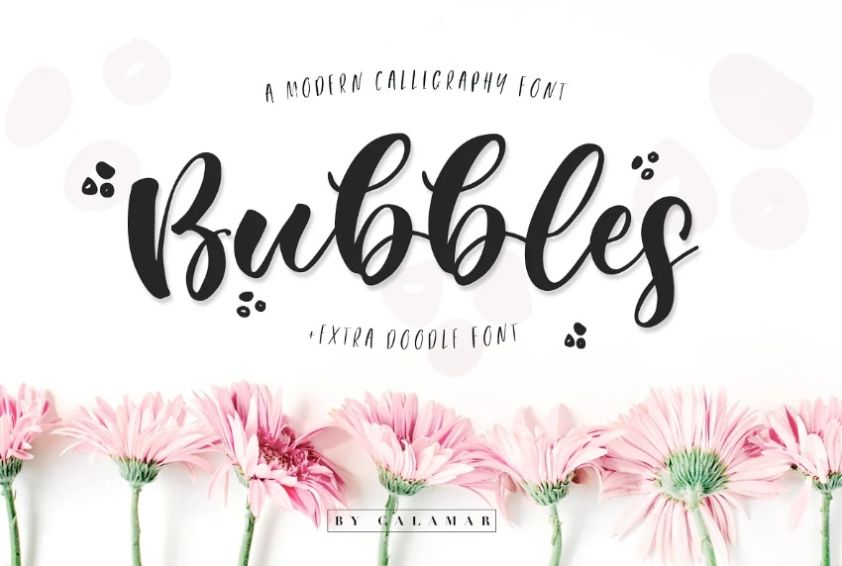 Playful and Modern Bubble Fonts