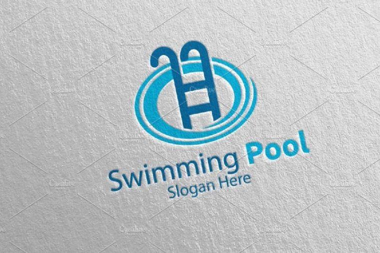 Pool Maintainance Logo Design