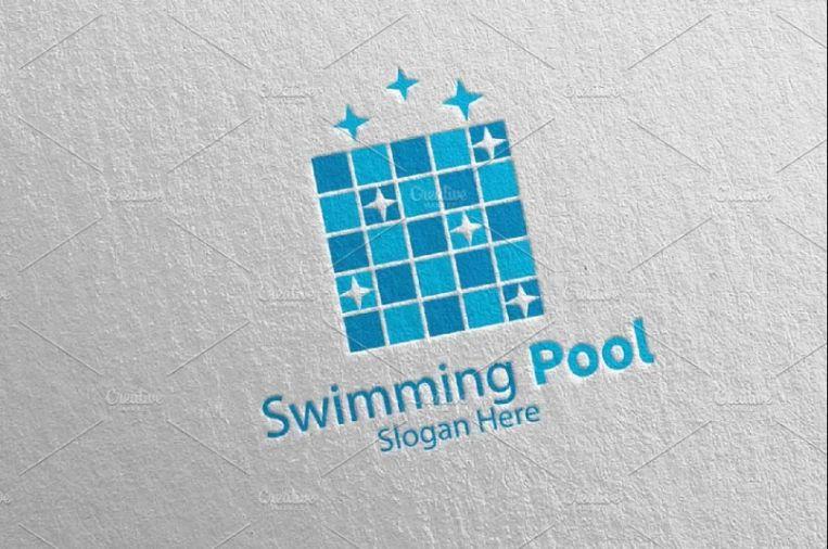 Pool Services Logo Design