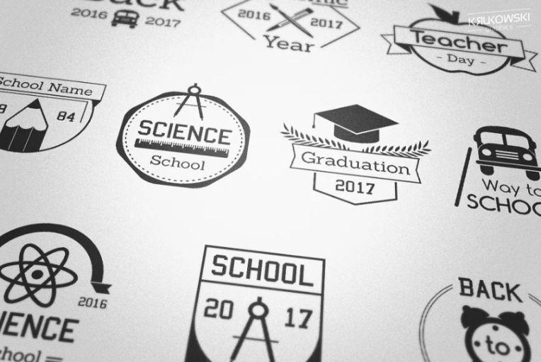 Pre Made School Logos
