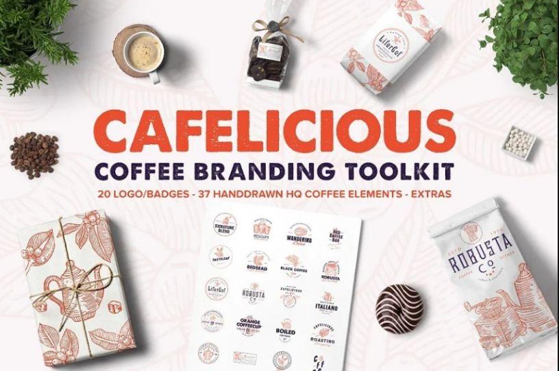 Premium Coffee Logo Kit