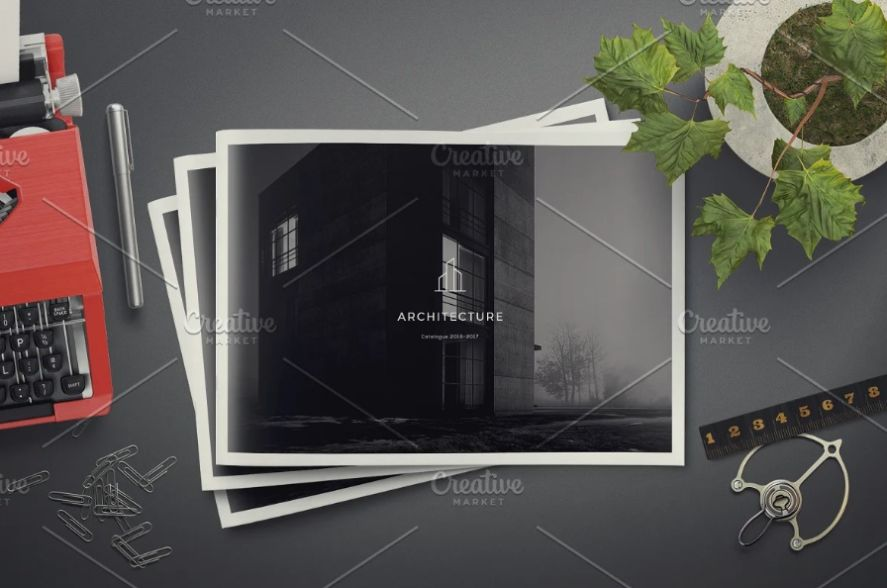 Print Ready Architecture Brochure Template