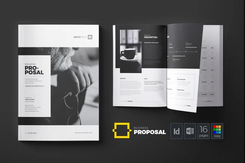 Print Ready Brochure Templates
