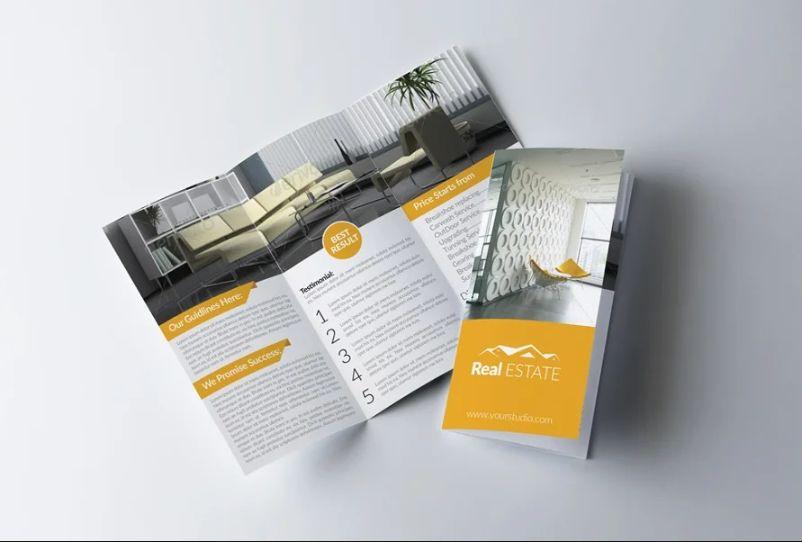 Print Ready Real Estate Brochure Design