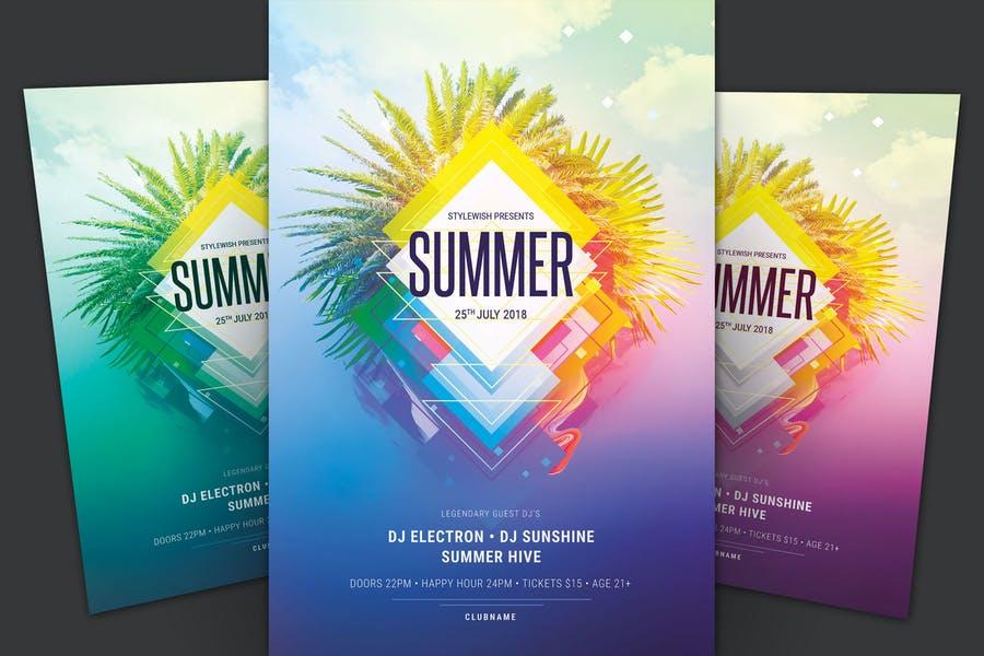 Print Ready Summer Flyers