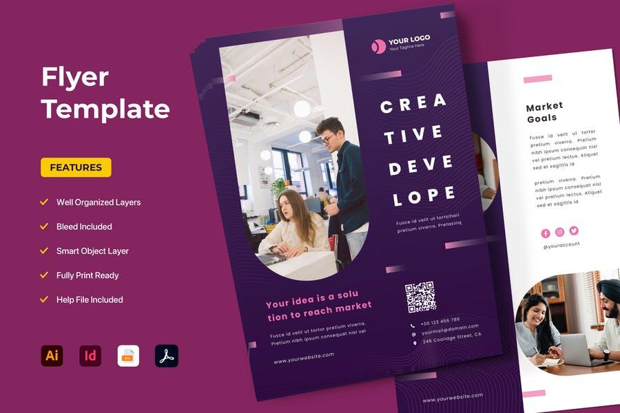 Printable Advertising Flyer