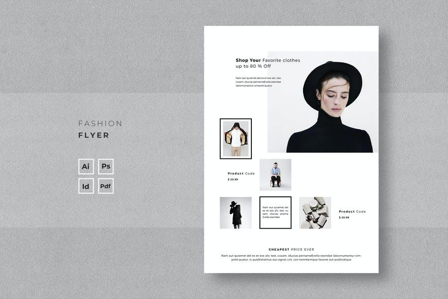 Printable Fashion Flyer Designs
