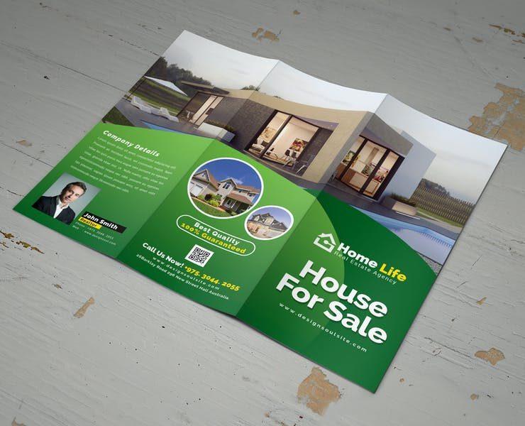 21+ Real Estate Tri Fold Brochure Template Download