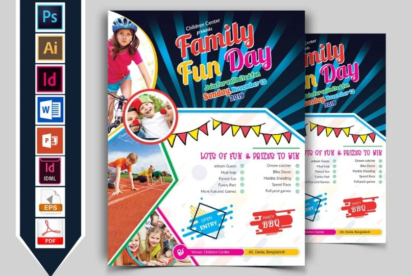Professional Family Fun Flyers