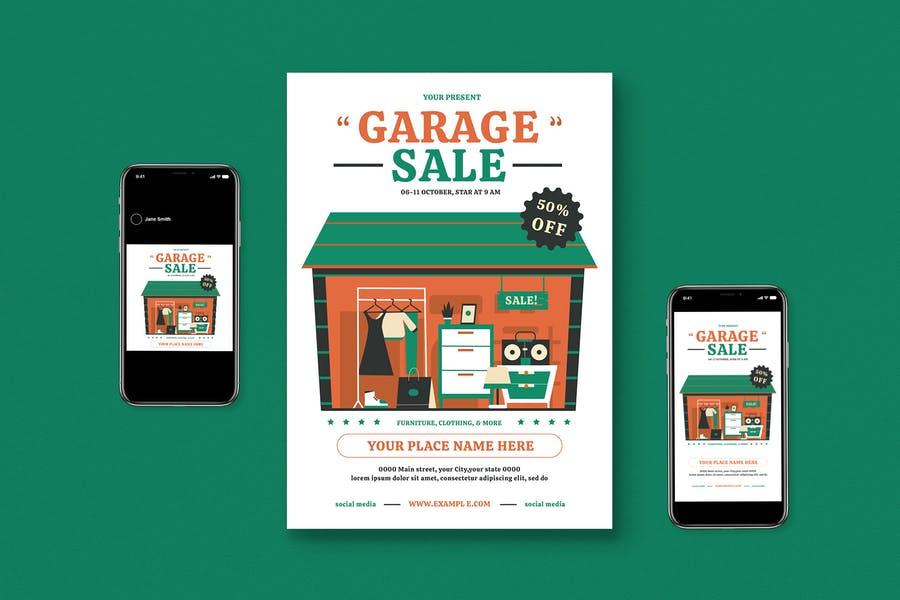 Professional Garage Sale Kit