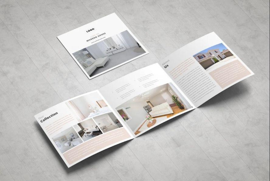 Professional Real Estate Brochure Templates
