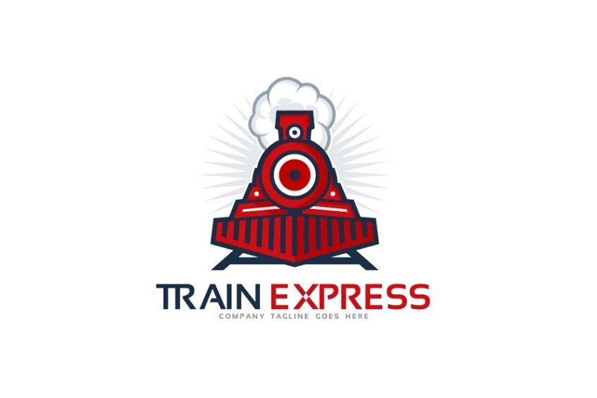 Professional Train Logo Concept