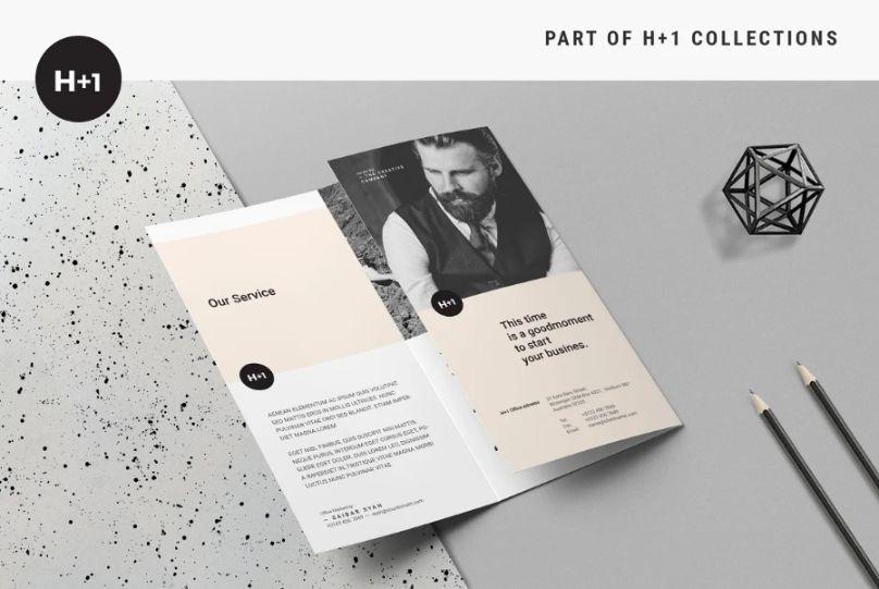 Professional Tri Fold Business Brochure Template