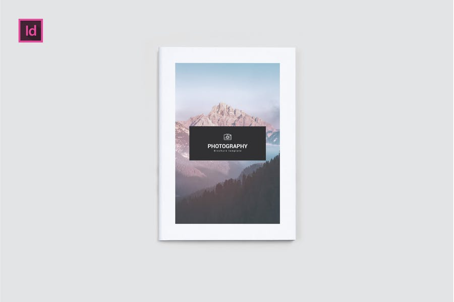 Professional and Clean Photography Brochures