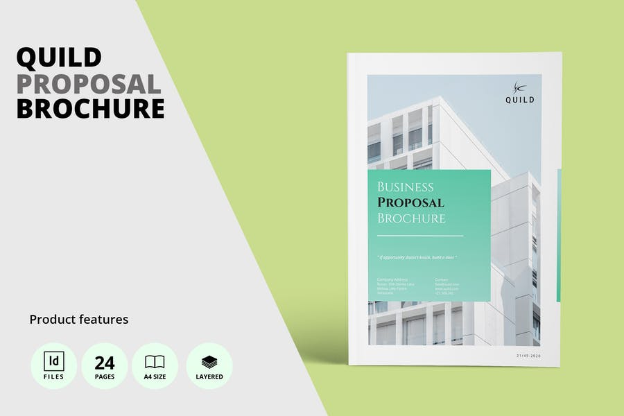 Professional and Clean Proposal Template