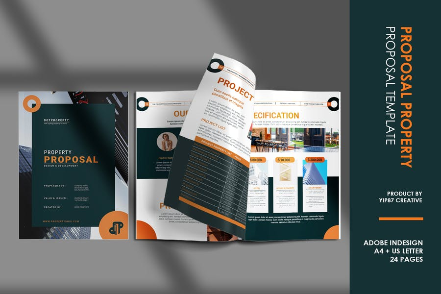Property Proposal Brochure Template
