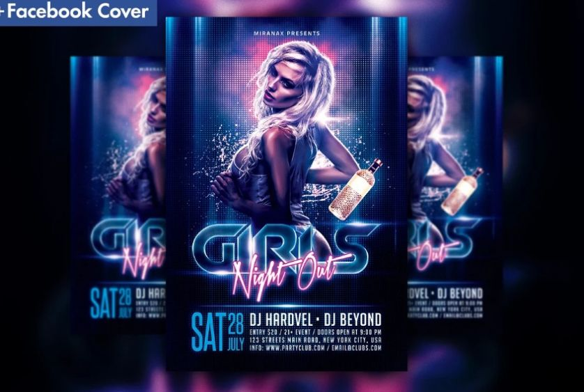 18+ Best Rave Flyer Template Ai and PSD Download