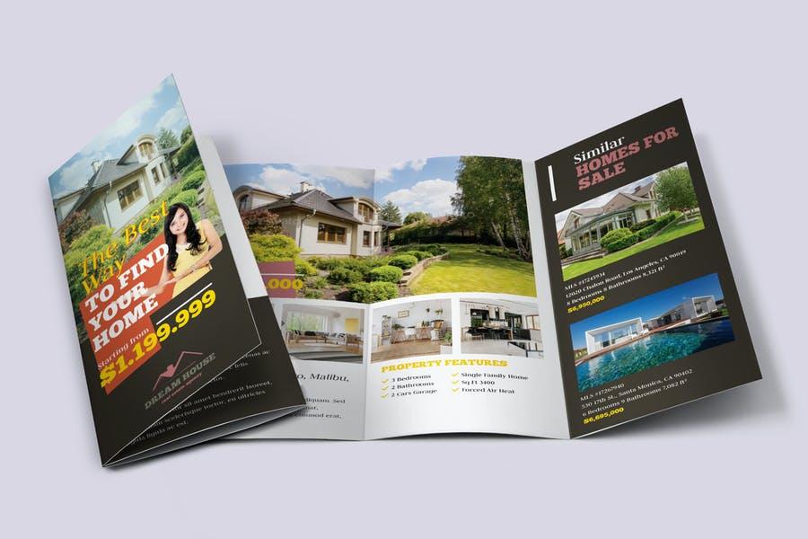 Realtor Agent Brochure Template