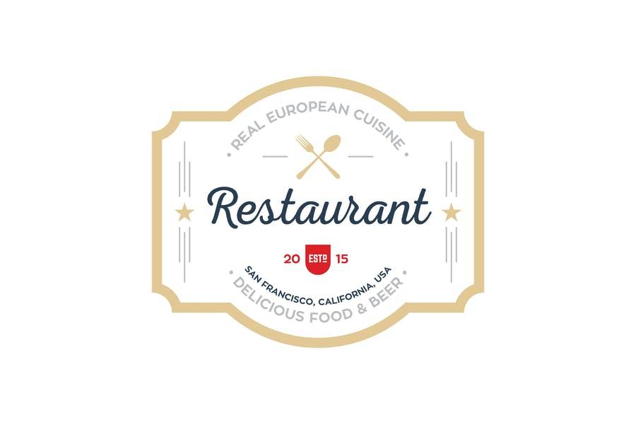 Restaurant Branding Identity Design