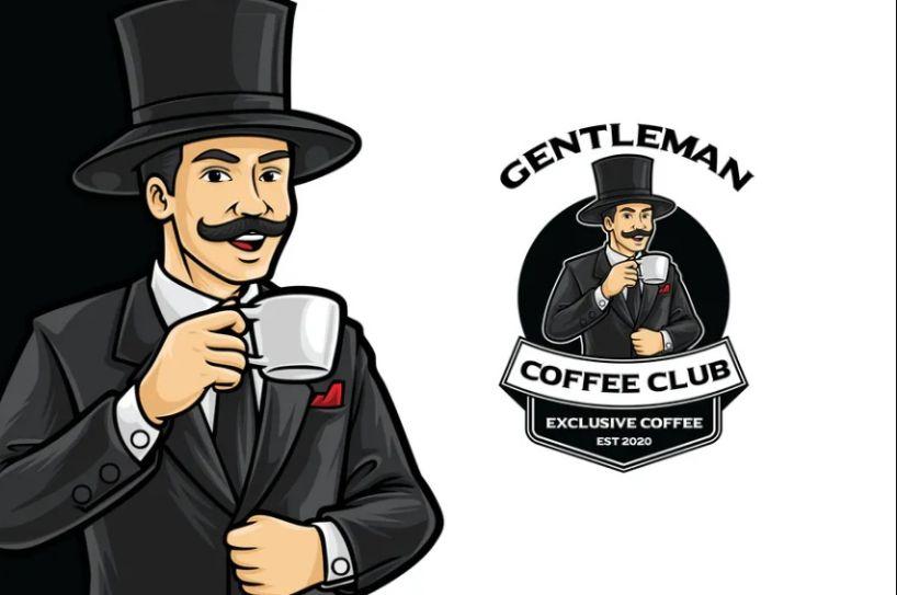 Retro Coffe Club Logo