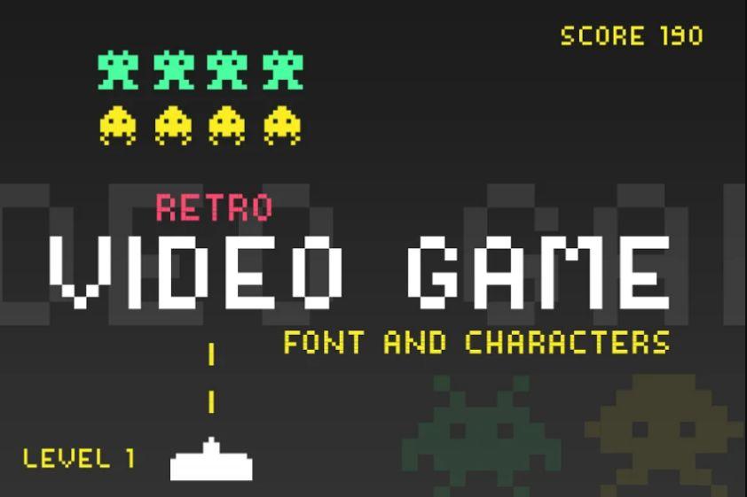 Retro Gaming Font