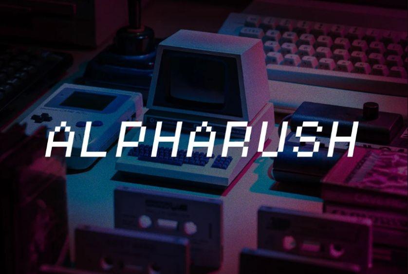 Retro Gaming Typeface