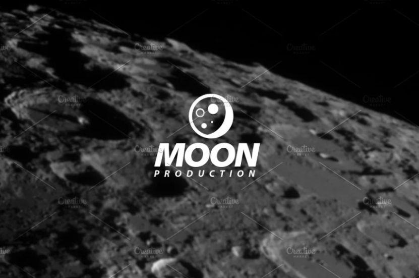 Retro Moon Logo