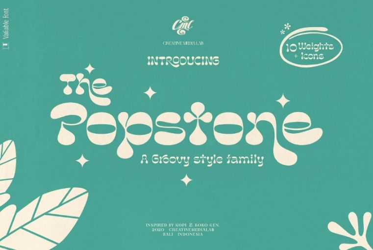 Retro Psychedelic Fonts