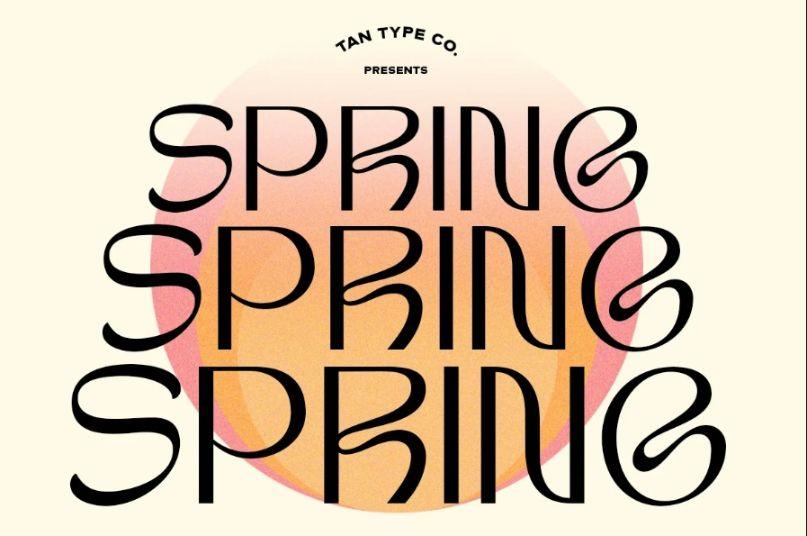 Retro Spring Fonts
